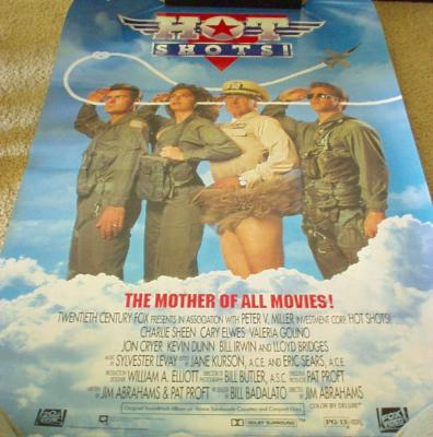 Hot Shots full size 27x40 movie poster