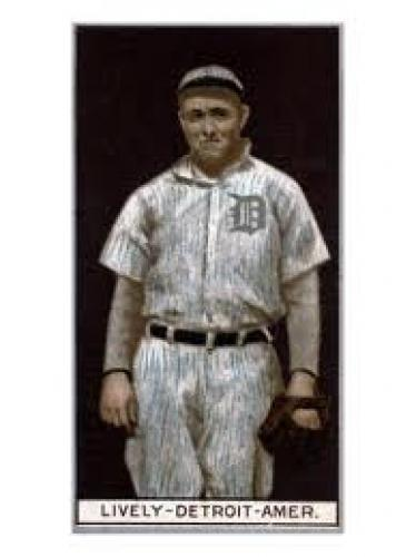 Baseball Card; Detroit, MI, Detroit Tigers, Jack Lively