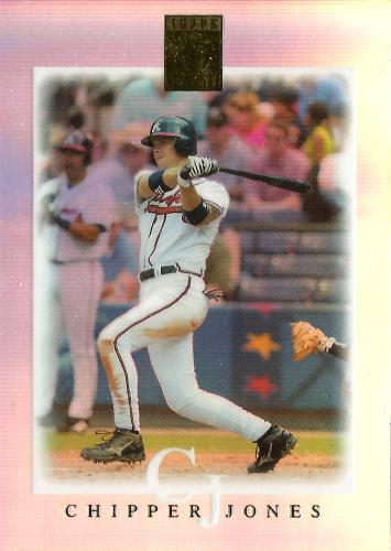 2003 Topps Tribute Contemporary #85 ~ Chipper Jones