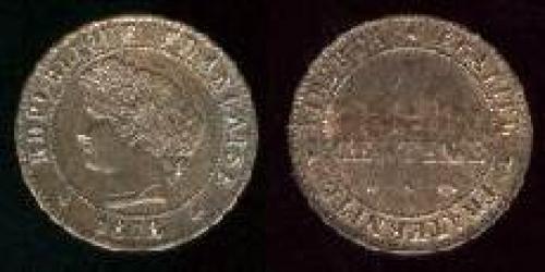 1 centime 1872-1897 (km 826)