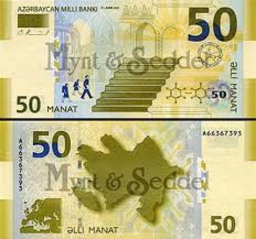 Banknotes; Azerbaijan; 50 Manat