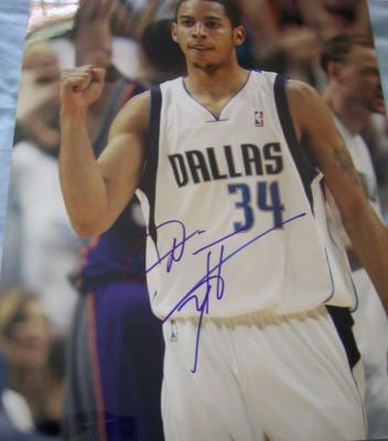 Devin Harris autographed Dallas Mavericks 11x14 photo