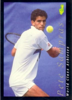 Pete Sampras 1992 Classic World Class Athletes card #37