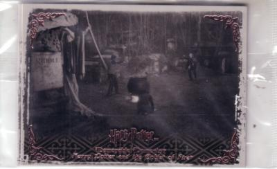Harry Potter Memorable Moments 2 album or binder promo cards P4 & P5