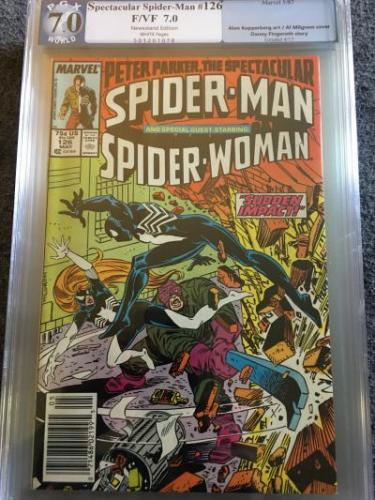 Peter Parker, The spectacular Spider-Man #126