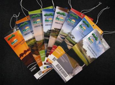 2008 U.S. Open complete ticket set (Tiger Woods wins 14th major)