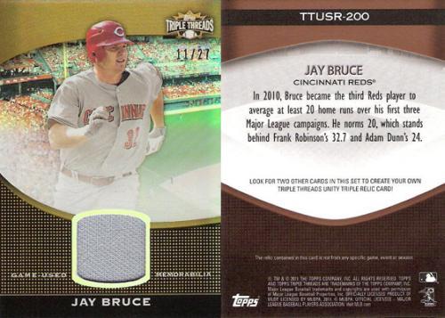Jay Bruce Relic /27