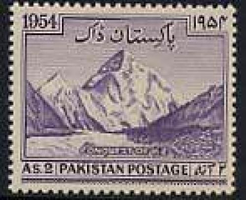 K2 climbing 1v; Year: 1954