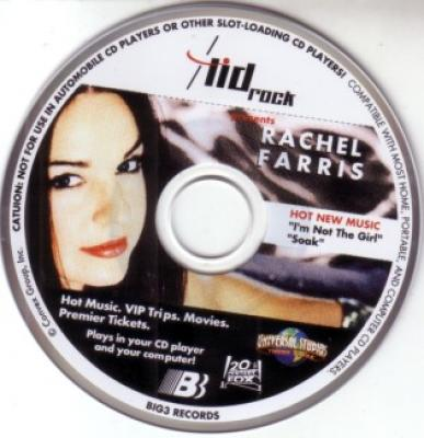 Rachel Farris Lid Rock mini 3 inch CD