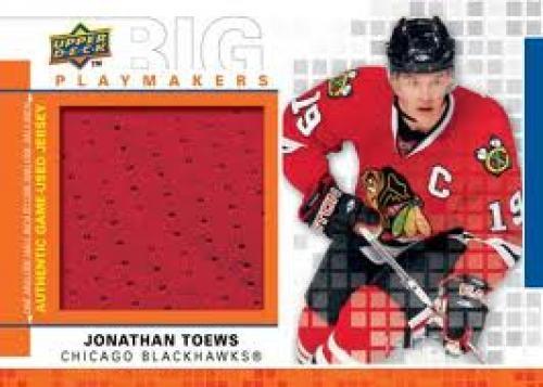 First look: 2009-10 Upper Deck hockey cards; Jonathan Toews; Chicago Blackhawks