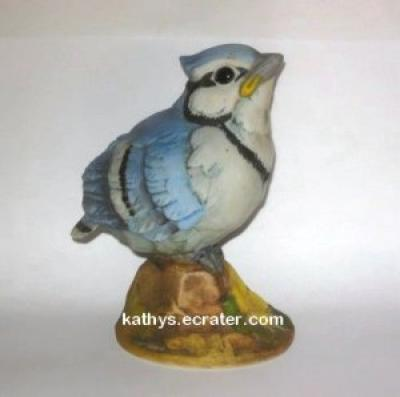 Andrea by Sadek 6350 Baby Blue Jay Bird Figurine