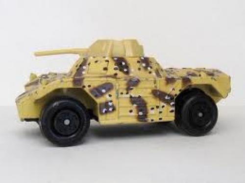 Military Tank;  Weasel 1973 sand camo