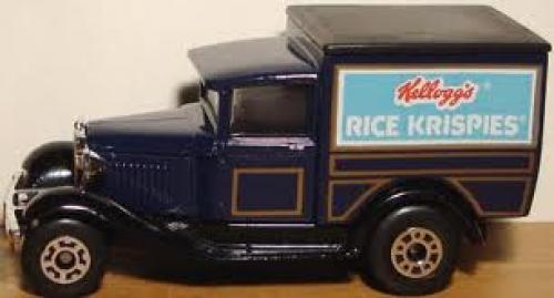 Trucks; Rice Krispies Ford Model A truck/van