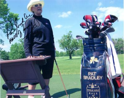 Pat Bradley autographed 8x10 photo