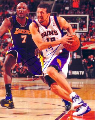 Hedo Turkoglu autographed Phoenix Suns 8x10 photo