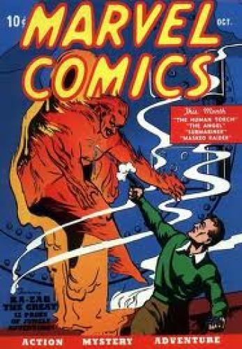Marvel Comics Vol 1 #1