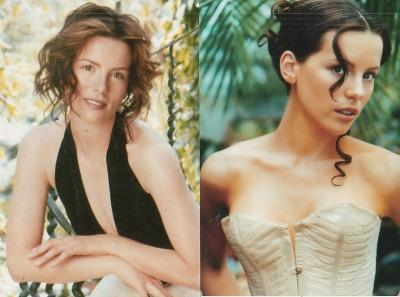 Kate Beckinsale set of two 4x6 photos
