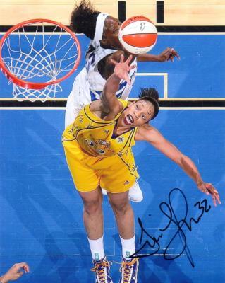 Tina Thompson autographed 8x10 WNBA Los Angeles Sparks photo