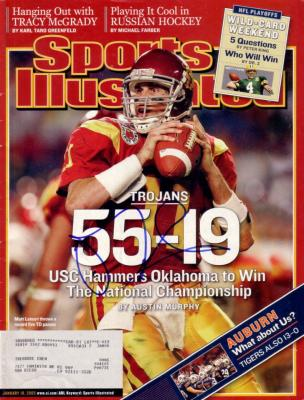 Matt Leinart autographed USC National Championship 2005 Sports Illustrated