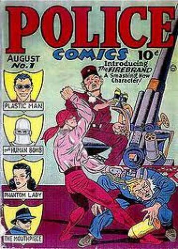 Comics; Police Comics #1 (Aug, 1941)