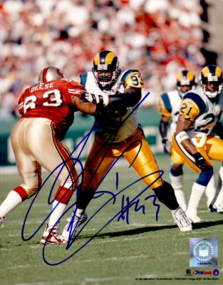 Kevin Carter autographed St. Louis Rams 8x10 photo