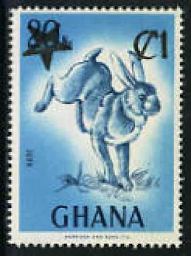 Overprint 1v; Year: 1983