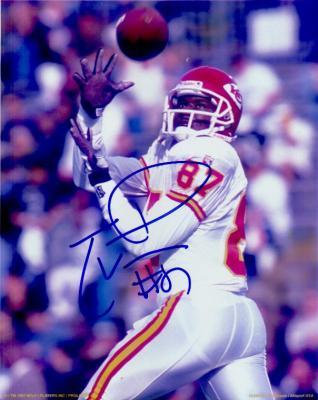 Tamarick Vanover autographed Kansas City Chiefs 8x10 photo