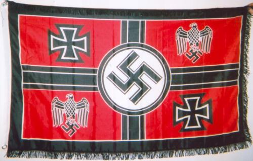 1938 German HQ flag
