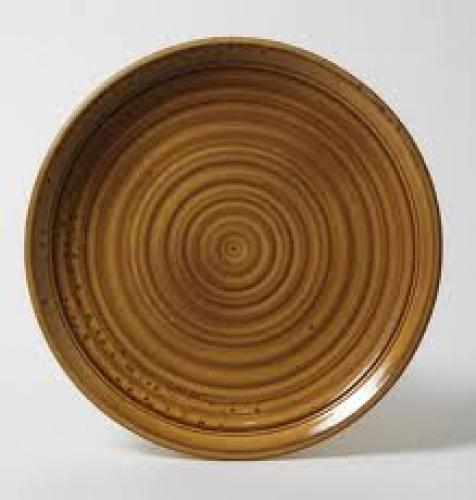 Unique Pottery Plate