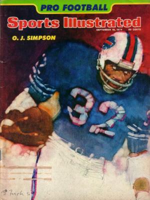 O.J. Simpson Bills 1974 Sports Illustrated