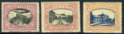 Los Altos railway 3v; Year: 1930
