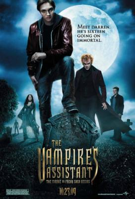 The Vampire&#039;s Assistant movie mini promo poster
