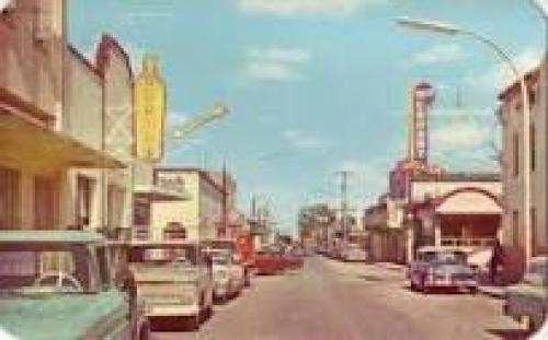 Hidalgo Avenue, COAH, MEXICO Vintage Postcard