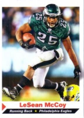 LeSean McCoy Philadelphia Eagles 2011 Sports Illustrated for Kids card
