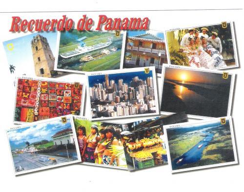 POSTCARDS PANAMA