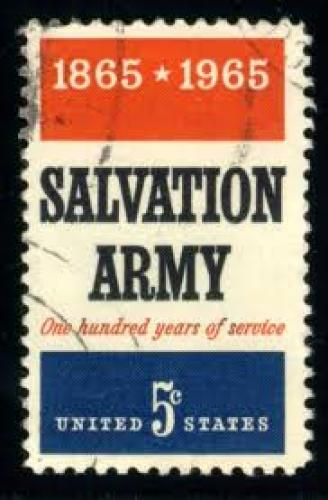 Stamp; USA 1965; SalvArmy