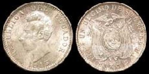 0,5 decimo 1902-1915 (km 55)