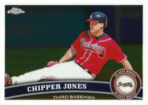 2011 Topps Chrome #2 ~ Chipper Jones