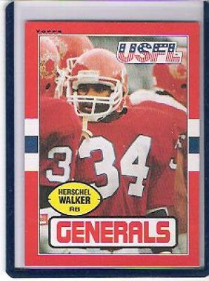 Herschel Walker 1985 Topps USFL card #86 NrMt-Mt