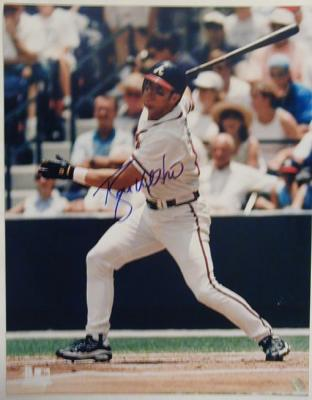 Ryan Klesko autographed Atlanta Braves 11x14 photo