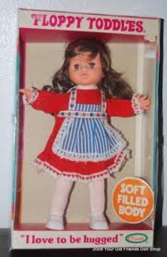 Dolls; 1977 Floppy Toddles Uneeda Doll Original