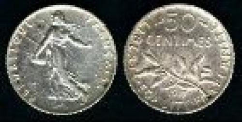 50 centimes; Year: 1897-1920; (km 854)