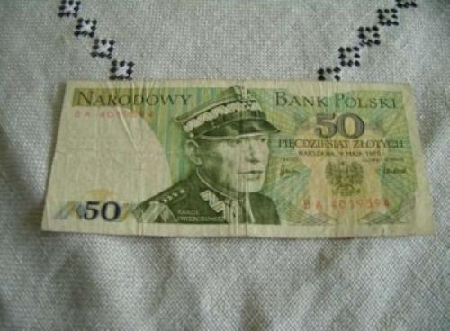 50 zloty - POLAND-1975