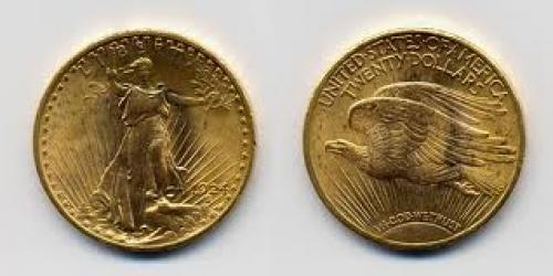 Coins; USA-1924-Coin-20 dollar