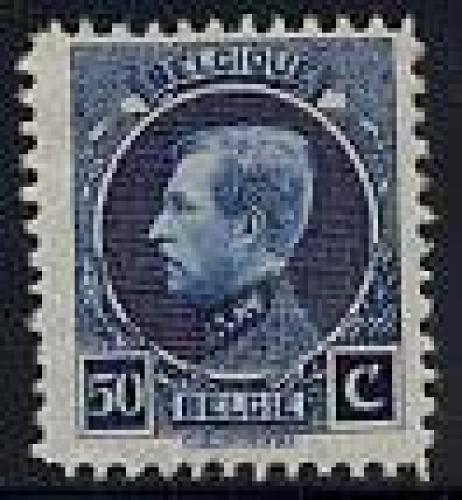 Stamp exposition Brussels 1v; Year: 1921