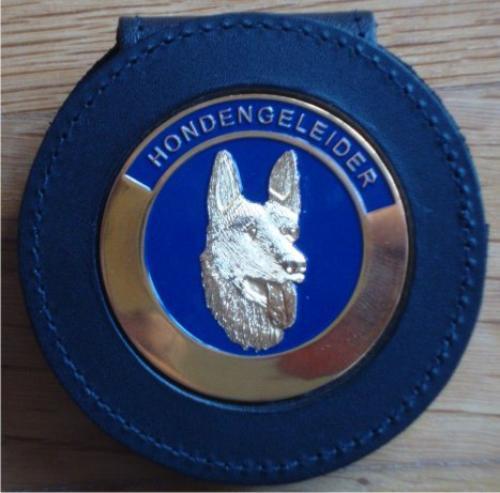 Leather I D Card Case/ Police Badge Holder Wallet/ Leather Wallets