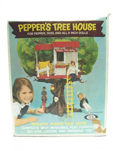 1960s Ideal Pepper&#039;s Tree House in Box
