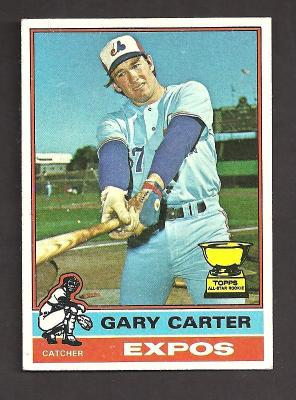 Gary Carter 1976 Topps card #441 Ex