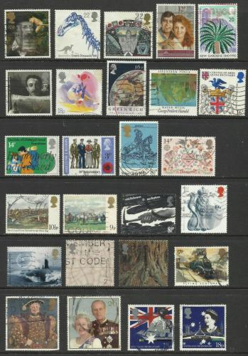 Used Stamps of Great Britain