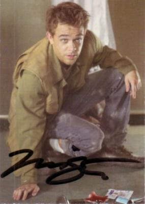 Nick Stahl certified autograph Terminator 3 Rise of the Machines John Connor card